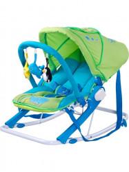 Detské ležadlo CARETERO Aqua green zelená