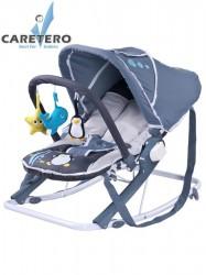 Detské ležadlo CARETERO Aqua grey sivá