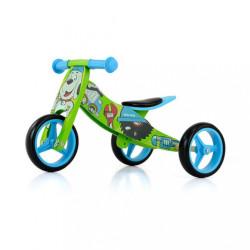Detské multifunkčné odrážadlo bicykel Milly Mally JAKE Bob modrá