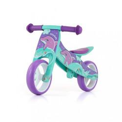 Detské multifunkčné odrážadlo bicykel Milly Mally JAKE Dolphin modrá