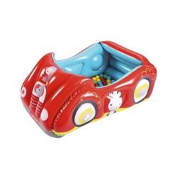 Detské nafukovacie autíčko Fisher-Price s loptičkami podľa obrázku