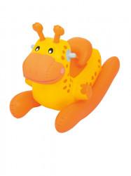 Detské nafukovacie hojdacie zvieratko Bestway oranžové