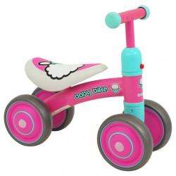 Detské odrážadlo Baby Mix Baby Bike pink ružová