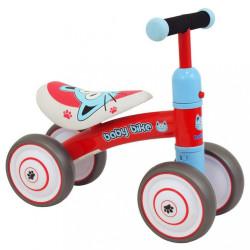 Detské odrážadlo Baby Mix Baby Bike red Červená