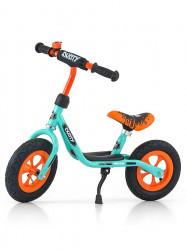 Detské odrážadlo bicykel Milly Mally Dusty orange 12