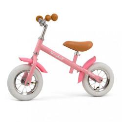 Detské odrážadlo bicykel Milly Mally Marshall Air Pink ružová