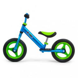 Detské odrážadlo bicykel Milly Mally Sonic Red modrá