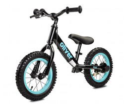 Detské odrážadlo bicykel Toyz Oliver black Čierna