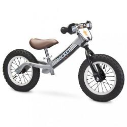Detské odrážadlo bicykel Toyz Rocket grey sivá