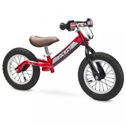 Detské odrážadlo bicykel Toyz Rocket red Červená
