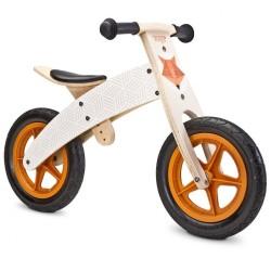 Detské odrážadlo bicykel Toyz  Woody beige béžová