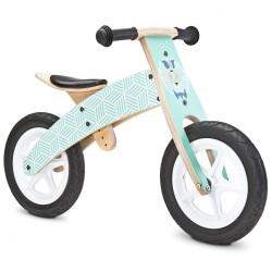 Detské odrážadlo bicykel Toyz  Woody mint mätová