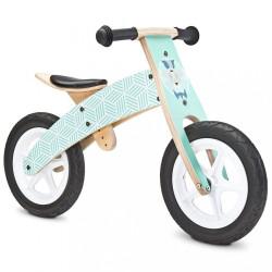Detské odrážadlo bicykel Toyz  Woody mint zelená