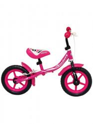 Detské odrážadlo kolo Baby Mix pink ružová