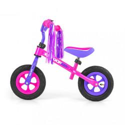 Detské odrážadlo kolo Milly Mally Dragon Air pink ružová