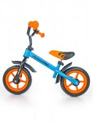Detské odrážadlo kolo Milly Mally Dragon orange-blue oranžová