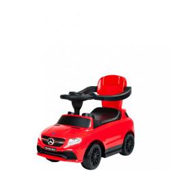 Detské odrážadlo s vodiacou tyčou Mercedes Benz Bayo red Červená #1