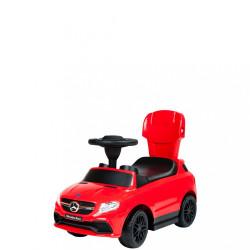 Detské odrážadlo s vodiacou tyčou Mercedes Benz Bayo red Červená #2
