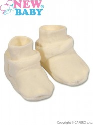 Detské papučky New Baby béžove