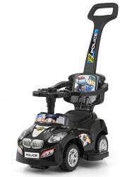 Detské vozítko 2v1 Milly Mally Happy black Čierna