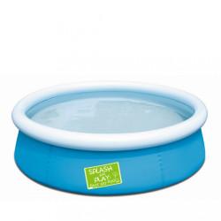 Detský bazén s nafukovacím okrajom Bestway modrá