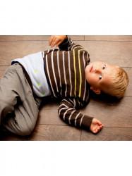 Detský bederňáčik 0-5 rokov VG antracitovo-limetkový zelená #4