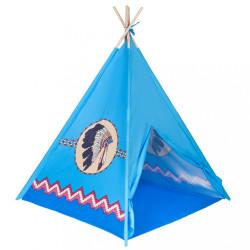 Detský indiánsky stan PlayTo modrý