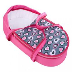 Detský kočík pre bábiky 2v1 New Baby Ruženka ružová #1