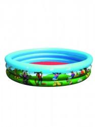 Detský nafukovací bazén Bestway Mickey Mouse a priatelia zelená