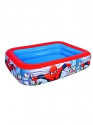 Detský nafukovací bazén Bestway Spider-Man modrá
