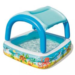 Detský nafukovací bazén so strieškou Bestway more multicolor #1