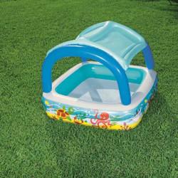 Detský nafukovací bazén so strieškou Bestway more multicolor #3