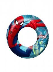 Detský nafukovací kruh Bestway Spider-Man modrá