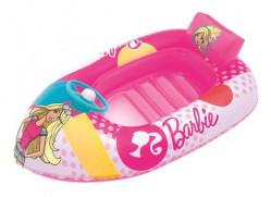 Detský nafukovací plavecký čln Bestway Barbie ružová