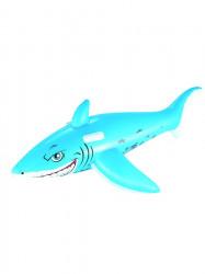 Detský nafukovací žralok do vody Bestway modrá