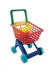 Detský nákupný košík - zelený