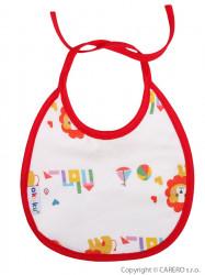 Detský podbradník Akuku mini pre dievčatká podľa obrázku