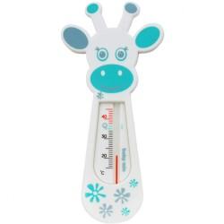Detský teplomer do vaničky Baby Mix Žirafa white biela