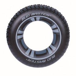Detský veľký nafukovací kruh Bestway Čierna