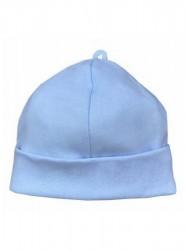 Dojčenská bavlnená čiapočka Koala Balónik modrá