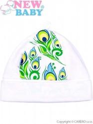 Dojčenská bavlnená čiapočka New Baby z Luxusnej kolekcie