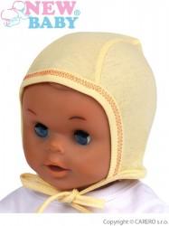 Dojčenská čiapočka New Baby žltá #1
