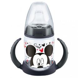 Dojčenská fľaša na učenie NUK Disney Mickey 150 ml černá Čierna