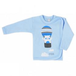 Dojčenská košieľka Bobas Fashion Mini Baby modrá