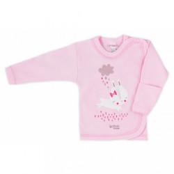 Dojčenská košieľka Bobas Fashion Mini Baby ružová