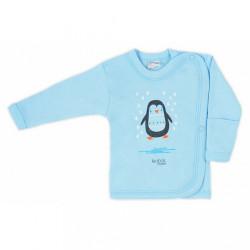 Dojčenská košieľka Bobas Fashion Mini Baby tyrkysová