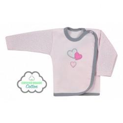 Dojčenská košieľka Koala Nice Life ružová