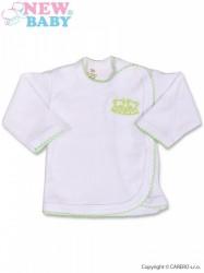Dojčenská košieľka New Baby Classic biela