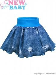Dojčenská suknička New Baby Light Jeansbaby modrá
