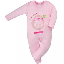 Dojčenská súprava Hedgehog Amma ružová